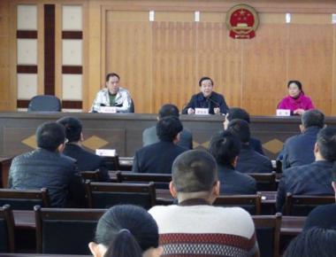 邱忠强同志新任大埔法院党组书记